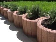 Concrete Flower pot TARSIA - Gruppo Industriale Tegolaia
