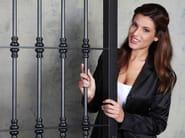 Steel security bar Security bar - OFFICINE LOCATI