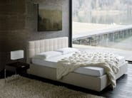 Upholstered double bed BOX - Zanotta