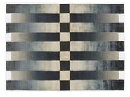 Rectangular rug with geometric shapes CHEQUERED - Deirdre Dyson