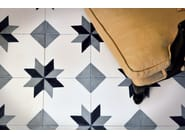 Cement wall tiles / flooring GEO_CB_11 - enticdesigns