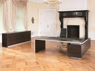 Rectangular executive desk .TAROS - Spiegels
