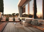 Garden armchair with armrests PORTOFINO   Garden armchair - Roberti Rattan