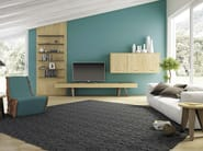 Horizontal wooden wall cabinet SUNNY | Wall cabinet - Domus Arte