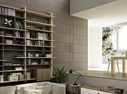Open wall-mounted bookcase LUI-O-LEI - Domus Arte