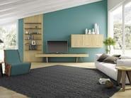 Low wooden TV cabinet HOP! - Domus Arte