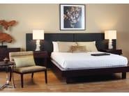 Rectangular wooden bedside table EDG - E | Bedside table - WARISAN