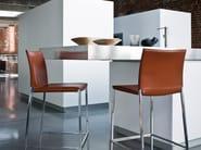 High upholstered stool LIO - Zanotta
