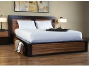 Wooden storage bed RIFT | Bed - WARISAN