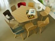 Multi-layer wood chair TRIA WOOD | Chair - Colé Italian Design Label