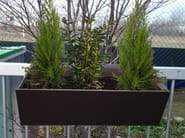 Low metal planter ALUFLOS - ALUSCALAE