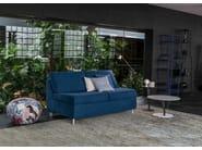 Contemporary style leather small sofa SON | Small sofa - Bonaldo