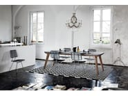 Rectangular dining table BRICK 233 - Gervasoni