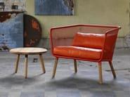 Oak stool / coffee table HONKEN | Coffee table - Blå Station