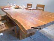 Rectangular wooden table ORIGINS | Rectangular table - WARISAN
