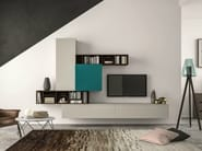 Sectional storage wall SLIM 101 - Dall'Agnese