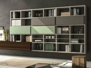 Lacquered storage wall SPEED K - Dall'Agnese