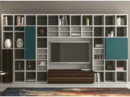 Lacquered storage wall SPEED Z - Dall'Agnese
