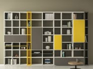 Lacquered bookcase SPEED P - Dall'Agnese