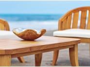Rectangular teak garden side table SOPHIE | Rectangular coffee table - WARISAN
