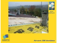 Ventilated roof system AIRVENT DS - GHIROTTO TECNO INSULATION