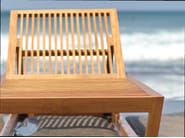 Recliner wooden garden daybed KOROGATED | Garden daybed - WARISAN