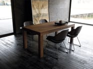 Extending rectangular table CANALETTO - Zanotta