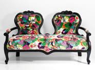 2 seater fabric sofa VEGETATION - KARE-DESIGN