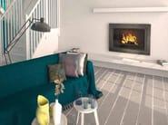 Wood-burning built-in wall-mounted fireplace CLARA - CHEMINEES SEGUIN DUTERIEZ