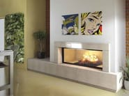 Wood-burning built-in fireplace ALICIA - CHEMINEES SEGUIN DUTERIEZ