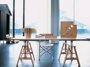 Laminate writing desk LEONARDO - Zanotta