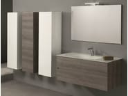 Wall-mounted vanity unit with drawers HD.07 - Mobiltesino