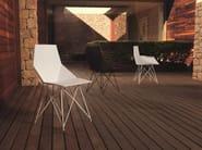 Polypropylene garden chair FAZ | Chair - VONDOM