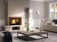 Wood-burning built-in wall-mounted fireplace TOSCA - CHEMINEES SEGUIN DUTERIEZ