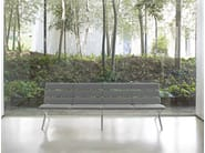 Upholstered fabric bench BENCH B | Bench - BD Barcelona Design