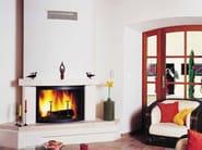 Wood-burning corner fireplace JULIETTE - CHEMINEES SEGUIN DUTERIEZ