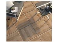 Porcelain stoneware outdoor floor tiles with wood effect TREVERKHOME20 | Outdoor floor tiles - MARAZZI