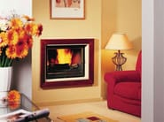 Wood-burning built-in wall-mounted fireplace MADÈRE - CHEMINEES SEGUIN DUTERIEZ