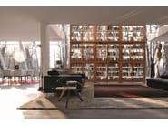 Modular wooden bookcase MODULO BIEDERMEIER   Wooden bookcase - Morelato