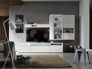 Lacquered TV wall system NEO | Lacquered storage wall - Hülsta-Werke Hüls