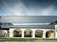 Metal shingle for facades RHOMBOID PANEL - PREFA ITALIA