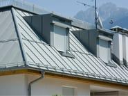 Aluminium Gutter and downpipe GUTTER - PREFA ITALIA