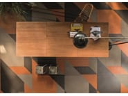 Porcelain stoneware wall/floor tiles TIERRAS INDUSTRIAL TRIO MIX - MUTINA