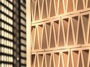 Terracotta room divider TIERRAS ARTISANAL LITTLE ROMAN - MUTINA
