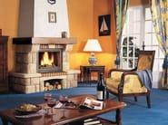 Wood-burning fireplace with panoramic glass NEMO - CHEMINEES SEGUIN DUTERIEZ