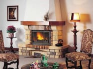 Wood-burning fireplace with panoramic glass CHATAIGNERAIE - CHEMINEES SEGUIN DUTERIEZ