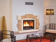 Wood-burning built-in wall-mounted fireplace VALLOIRE - CHEMINEES SEGUIN DUTERIEZ