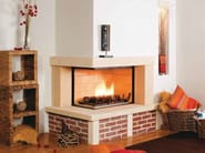 Wood-burning fireplace with panoramic glass NERYS - CHEMINEES SEGUIN DUTERIEZ