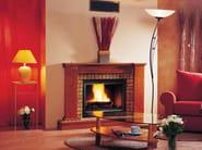 Wood-burning fireplace with panoramic glass SHIRLEY - CHEMINEES SEGUIN DUTERIEZ