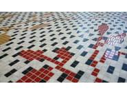 Marble and Wooden mosaic RAMAGE - Mosaico+